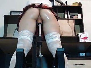 तंग गधा टैटन स्कर्ट मशीन गड़बड़ छूत और धार