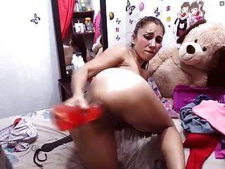 लैटिना गुदा मैथुन camwhore मैला बट गैप